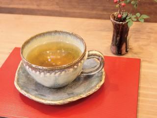 山草茶orハーブティー